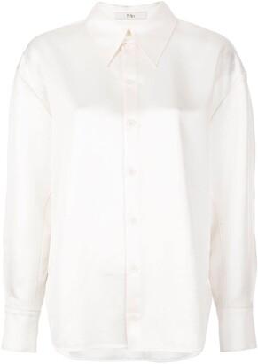 Tibi Celia origami sleeve shirt