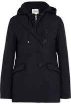 Tod's Two-piece Hooded Padded Shell Jacket - Midnight blue