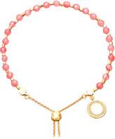Astley Clarke Rose 18ct yellow-gold vermeil and sapphire kula bracelet