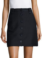 French Connection Flight Twill A-Line Skirt