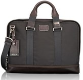 Tumi Men's 'Alpha Bravo - Andrews' Slim Briefcase - Black