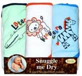 FRENCHIE MINI COUTURE Safari Animal Towel, Boy, (Pack of 3)