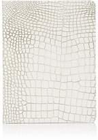 Barneys New York Croc-Embossed Leather Refillable Journal
