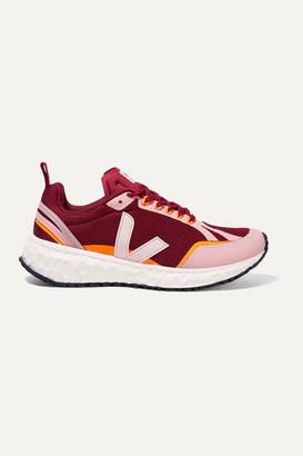 Veja Net Sustain Condor Rubber-trimmed Mesh Sneakers - Pink