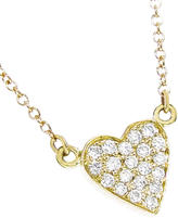 Jennifer Meyer Diamond Heart Bracelet - Yellow Gold