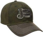 Justin Boots Men's Wax Cloth Military Green
