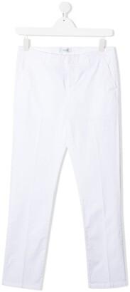 Dondup Kids TEEN straight-leg chino trousers