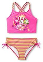 Shopkins Girls' Tankini Swimsuit - Purple