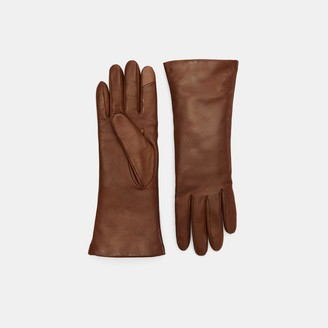 Theory Tech Gloves in Leather