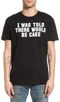Kid Dangerous Men's I Was Told There Would Be Cake Graphic T-Shirt