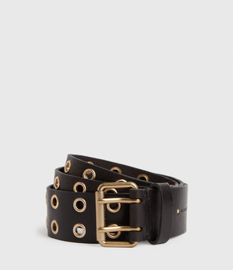 AllSaints Iryna Leather Belt
