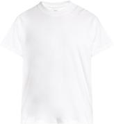 Fanmail Crew-neck hemp and cotton-blend T-shirt