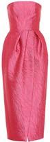Monique Lhuillier Jacquard dress