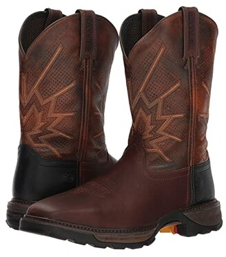 Durango Maverick 11 Ventilated Steel Toe (Tobacco) Cowboy Boots