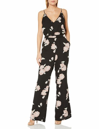 Cupcakes And Cashmere Women's Felissa Floral Printed Jumpsuit