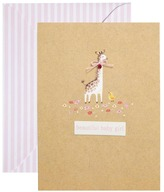 Paperchase Baby Girl Card