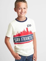 Gap Global city short sleeve tee