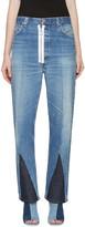 Off-White Blue Split Levis Edition Jeans