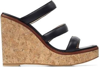 Jimmy Choo Athenia wedge sandals 110mm