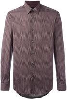 Pal Zileri geometric print shirt