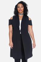 Fashion to Figure Kirstin Cold Shoulder Vest