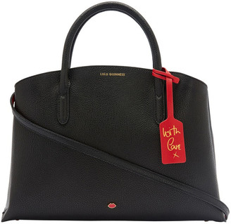 Lulu Guinness Black Leather Emme