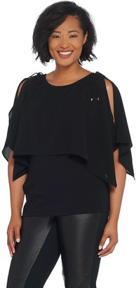 Belle By Kim Gravel Belle by Kim Gravel Double Layer Blouse