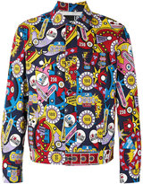 Love Moschino multi print jacket - men - Cotton/Spandex/Elastane - 50