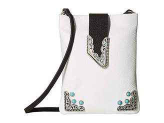 Leather Rock Andy Cell Pouch/Crossbody