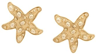 Versace Pre-Owned Starfish Clip-On Earrings