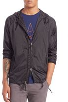 Madison Supply Hoooded Zip-Up Windbreaker