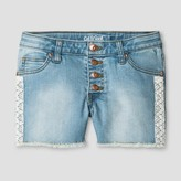 Cat & Jack Girls' Jeans shorts Light Wash