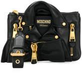 Moschino leather jacket bag