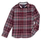 Nautica Boy's Flannel Button-Down Shirt