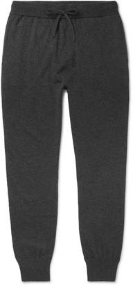 Melange Home Mr P. Slim-Fit Tapered Wool And Cashmere-Blend Sweatpants