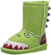 Muk Luks Kids' Animal Green Dinosaur Pull-On Boot