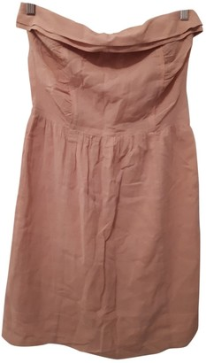 Comptoir des Cotonniers Pink Cotton Dress for Women