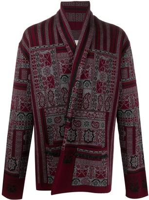 Etro Carpet Jacquard Cardigan