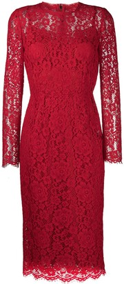 Dolce & Gabbana Midi Lace Dress