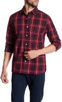 Jack Spade Grant Cunningham Plaid Trim Fit Shirt