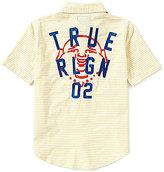 True Religion Big Boys 8-20 Striped Short-Sleeve Woven Shirt