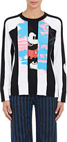 Marc Jacobs Women's Mickey Mouse® Patchwork Sweatshirt-BLACK