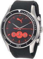 Puma Men's Ride Large Chronograph and Red Watch PU102581001