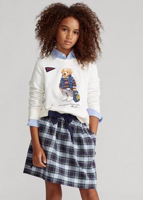 Ralph Lauren Tartan Plaid Oxford Skirt