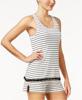 Jenni by Jennifer Moore Striped Racerback Pajama Tank Top, Only at Macy's