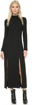 Wes Gordon Double Slit Column Dress