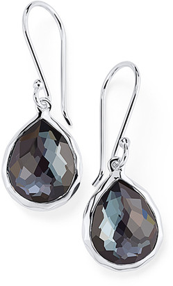 Ippolita Sterling Silver Teeny Crystal Teardrop Earrings