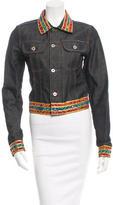 Dolce & Gabbana Embroidered Denim Jacket
