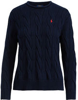 Polo Ralph Lauren Boxy Cable Cotton Sweater