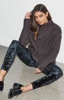 KENDALL + KYLIE Kendall & Kylie Oversized Chunky Ribbed Pullover Sweater